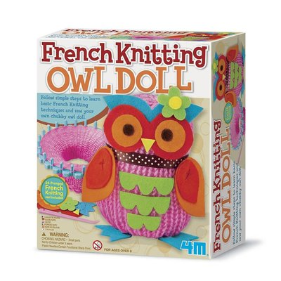 4M Craft Kit Owl French Knitting