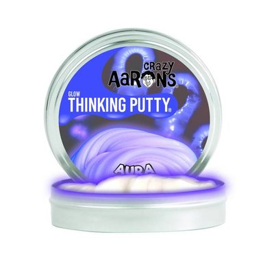 Crazy Aaron Crazy Aaron's Thinking Putty Glow in the Dark Aura