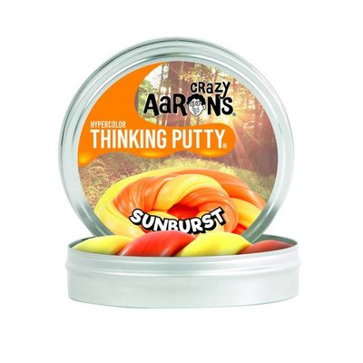 Crazy Aaron Crazy Aaron's Thinking Putty Heat Sensitive Sunburst