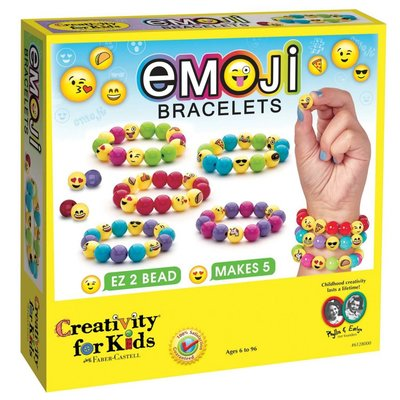 Creativity for Kids Creativity for Kids Emoji Bracelets