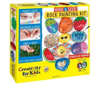 Creativity For Kids Hide & Seek Rock Painting