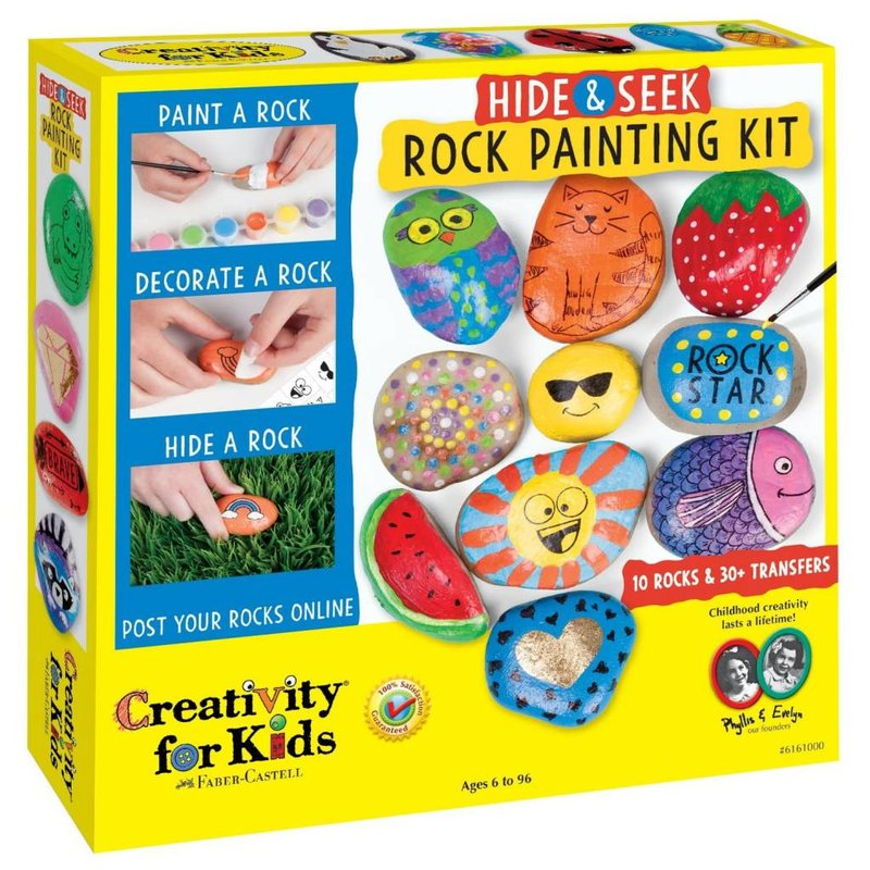 Creativity for Kids Creativity For Kids Hide & Seek Rock Painting
