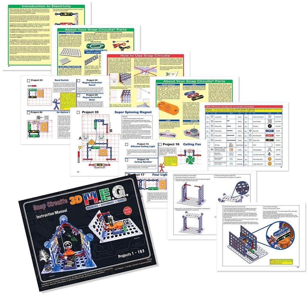 Elenco Snap Circuits 3d Meg Minds Alive Toys Crafts Books Circuit Light By Ebeanstalk