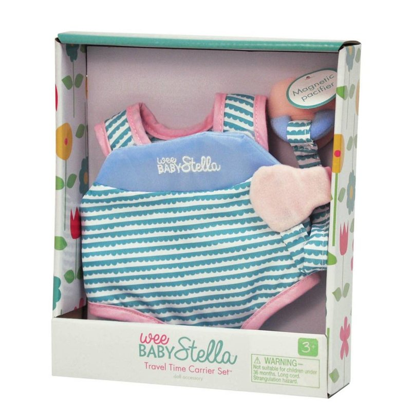 Baby Stella Doll Wee Baby Stella Travel Time Carrier