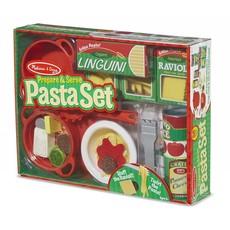 Melissa & Doug Play Food Prepare & Serve Pasta Set