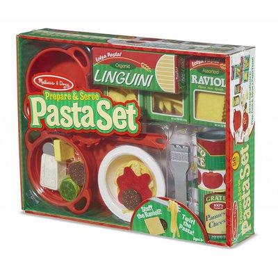 Melissa & Doug Melissa & Doug Play Food Prepare & Serve Pasta Set