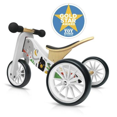 Kinderfeet Tiny Tots Convertible Balance Bike Makii