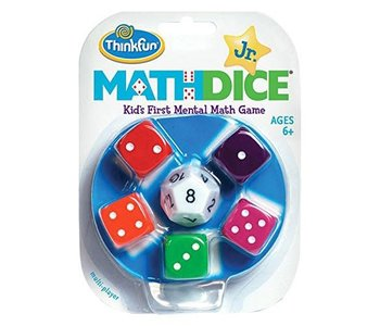 Thinkfun Game Math Dice Jr.