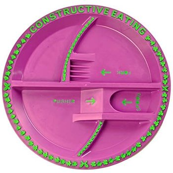 Constructive Eating Garden Fairy Plate