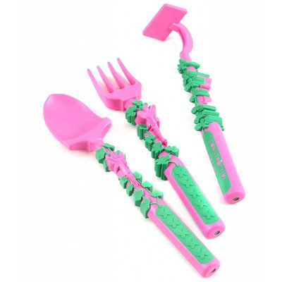 Constructive Eating Set Garden Fairy Utensil Set