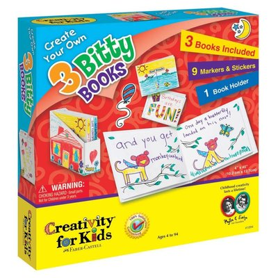 Creativity for Kids Creativity for Kids Create Your Own 3 Bitty Books