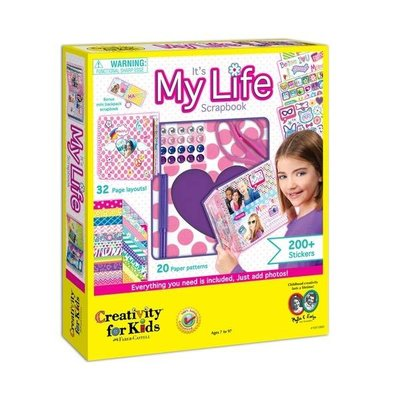 Creativity for Kids Creativity For Kids It's My Life Scrapbook Kit