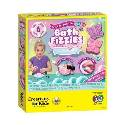 Creativity for Kids Creativity Craft Butterfly Surprise Bath Fizzes
