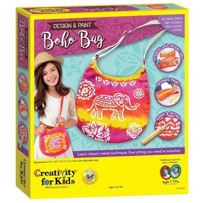 Creativity for Kids Creativity for Kids Design & Paint Boho Bag