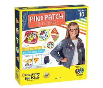 Creativity for Kids Pin & Patch