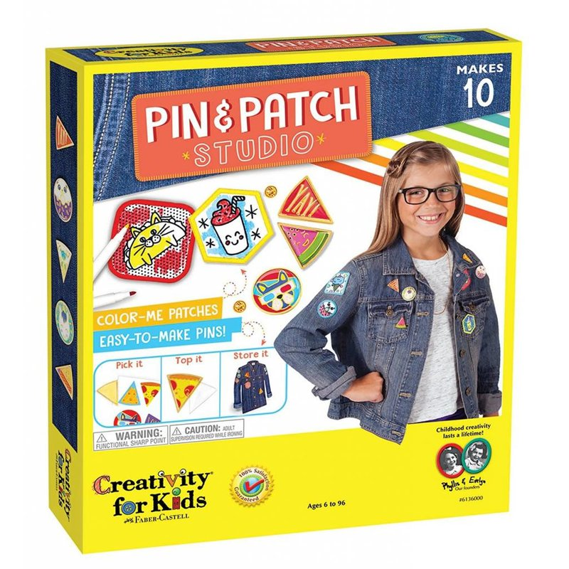 Creativity for Kids Creativity for Kids Pin & Patch