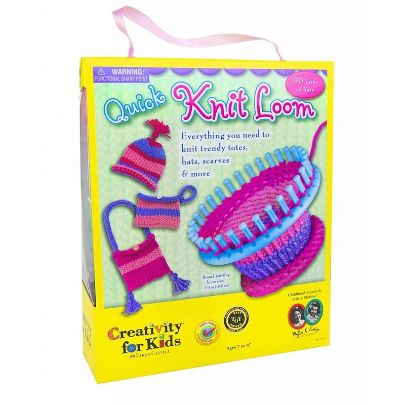Creativity for Kids Creativity for Kids Quick Knit Loom