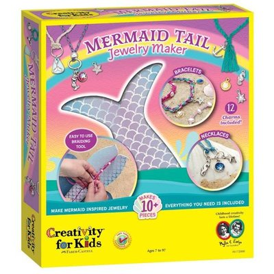 Creativity for Kids Creativity for Kids Mermaid Tail Jewelry Maker