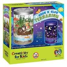 Creativity for Kids Creativity for Kids Grow N' Glow Terrarium