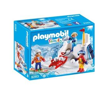 Playmobil Winter Sports Snowball Fight