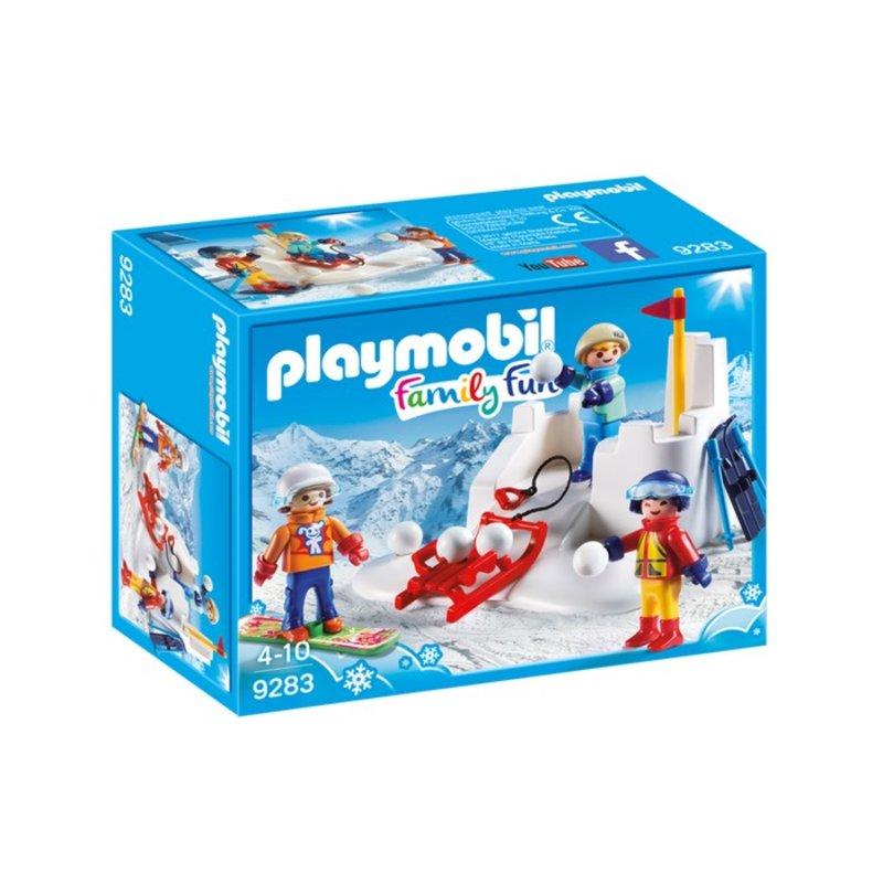 Playmobil Playmobil Winter Sports Snowball Fight