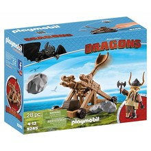 Playmobil Playmobil Dragons: Gobber with Catapult disc