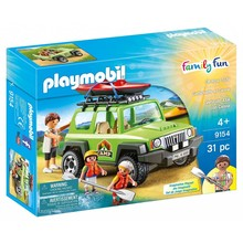 Playmobil Playmobil Off-Road SUV with Kayak disc