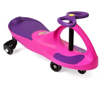 Plasma Car Pink with Purple Seat