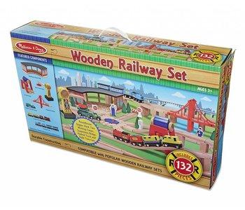 Melissa & Doug Railway Train Set