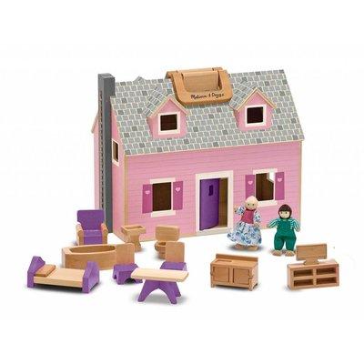 Melissa & Doug Melissa & Doug Doll House Fold & Go