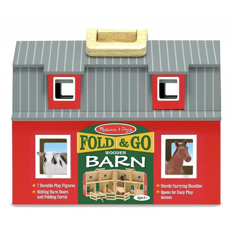 Melissa & Doug Melissa & Doug Play Set Fold & Go Barn