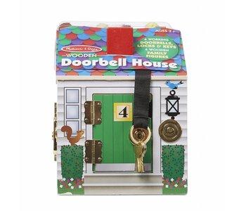 Melissa & Doug Play Set Doorbell House