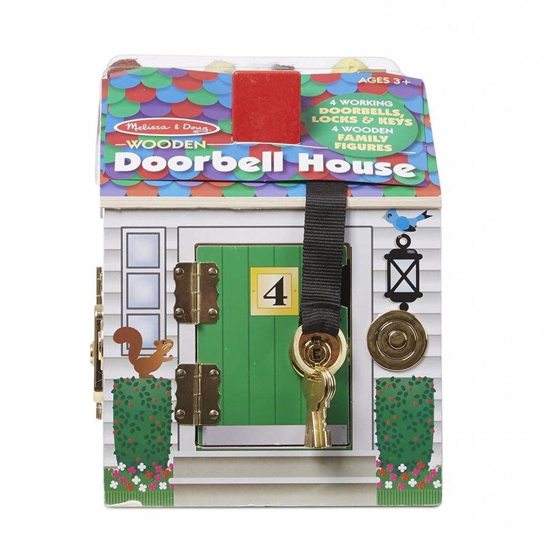 Melissa & Doug Melissa & Doug Play Set Doorbell House