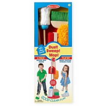 Melissa & Doug Melissa & Doug Cleaning Set Dust! Sweep! Mop!