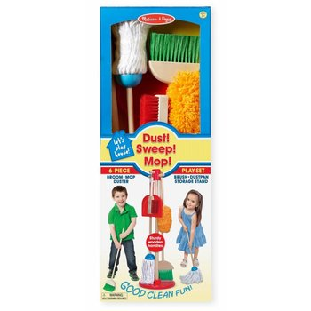 Melissa & Doug Cleaning Set Dust! Sweep! Mop!