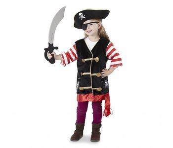 Melissa & Doug Role Play Pirate