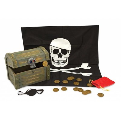 Melissa & Doug Melissa & Doug Role Play Pirate Chest
