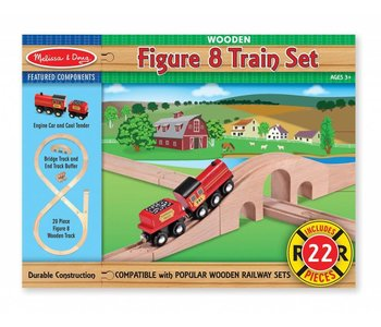 Melissa & Doug Railway Figure 8 Train set