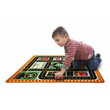 Melissa & Doug Melissa & Doug Road Rug Round the City Rescue Rug