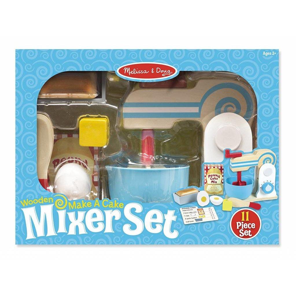 Melissa Doug Play Food Make A Cake Mixer Set