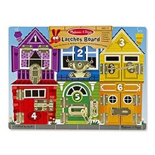 Melissa & Doug Melissa & Doug Learning Latch Board