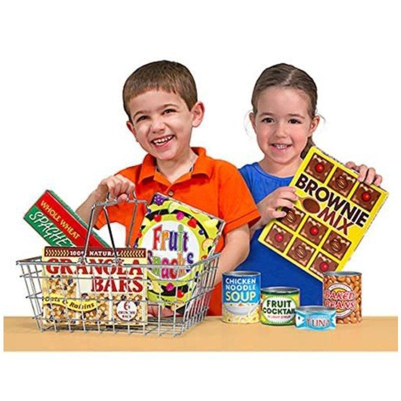 Melissa & Doug Melissa & Doug Play Set Grocery Basket