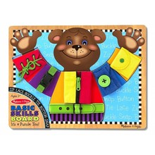 Melissa & Doug Melissa & Doug Learning Basic Skills Board