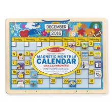 Melissa & Doug Melissa & Doug Learning Monthly Magnetic Calendar