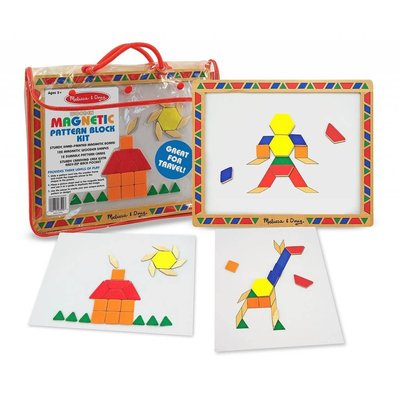 Melissa & Doug Melissa & Doug Learning Magnetic Pattern Block