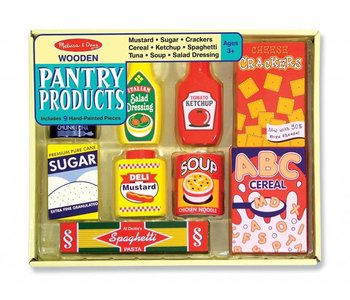 Melissa & Doug Play Food Pantry Products