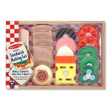 Melissa & Doug Melissa & Doug Play Food Sandwich Making Set