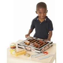 Melissa & Doug Melissa & Doug Play Food BBQ Grill & Serve