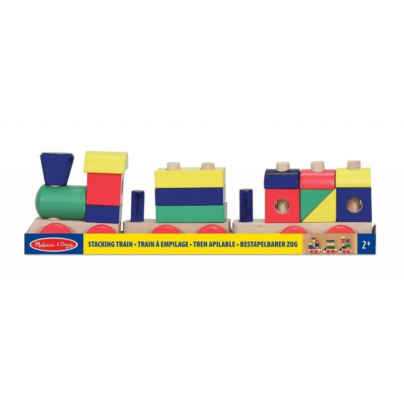 Melissa & Doug Melissa & Doug Wood Stacking Train