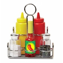 Melissa & Doug Melissa & Doug Play Food Condiment Set